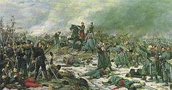 Lionel Royer: Bataille d'Auvours, le 10 janvier 1871