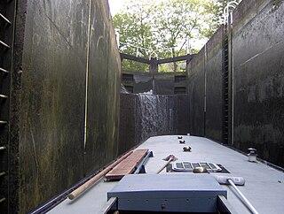 Bath Locks series of locks at Bath