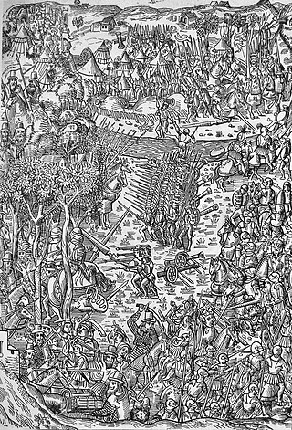 Battle of Fornoue 6 July 1495.jpg