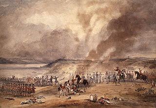 1760 battle between French & British near Ste-Foy, Québec, Canada