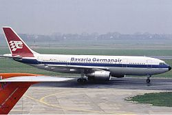 Airbus A300-B4 der Bavaria Germanair