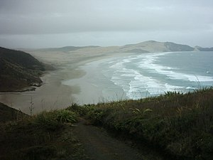 Far North District - The Far North, while generally a pleasant climate, can also be affected by the sometimes stormy maritime weather of the country, especially at places like Cape Reinga.