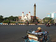 Indonezija - Page 2 180px-Becak_Tugu_Muda_Semarang_Central_Java