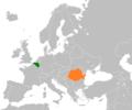 Belgium Romania Locator.png