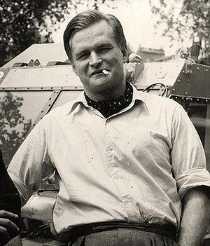 Ben Carlin - Carlin in Montreal, Quebec, Canada, in 1948