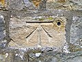 Bench Mark, St Mary's Church - geograph.org.uk - 2400214.jpg