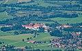 Benediktbeuern, Kloster von der Benediktenwand 2017-08.jpg