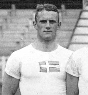 Bengt Uggla - Uggla at the 1920 Olympics