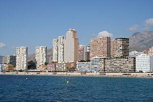 Benidorm - Poniente Beach in Benidorm