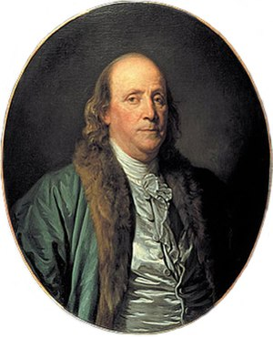 1777 in art - Image: Benjamin Franklin by Jean Baptiste Greuze