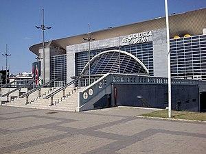Eurovision Song Contest 2008 - Belgrade Arena, host venue of the 2008 contest.