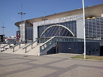 Eurovision Song Contest 2008 - Belgrade Arena, Belgrade - host venue of the 2008 contest.