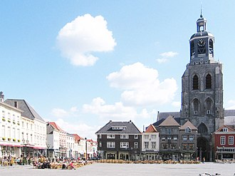 Gertrudiskerk - Gerturdiskerk in Bergen op Zoom