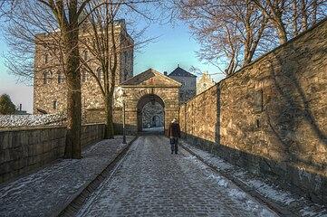Bergenhus Fortress Bergen Norway 2009 1 HDR.JPG
