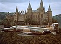 Bergstrom AFB RF-4 flight of 2 - Hohenzollern Castle Germany circa 1976 - panoramio.jpg
