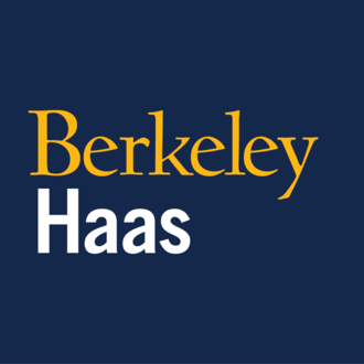 Haas School of Business - Image: Berkeley haas wordmark square gold white on blue (1)