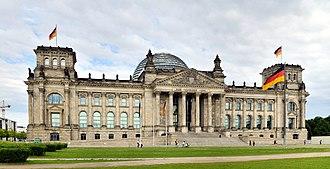 Reichstag building - Image: Berlin Reichstagsgebäude 3