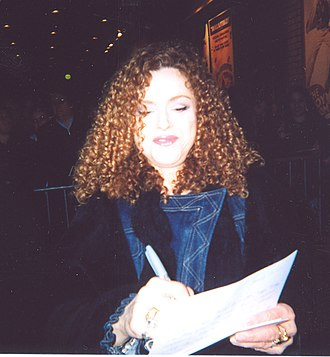 Bernadette Peters - Peters after a performance of Gypsy in 2004