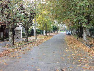 Bernal, Argentina - Zeballos Street, Bernal, Buenos Aires Province