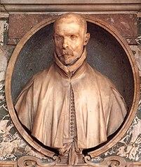 Bust of Monsignor Pedro de Foix Montoya