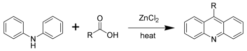 The Bernthsen acridine synthesis