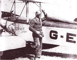 Bert Hinkler - Hinkler and his Avro Avian