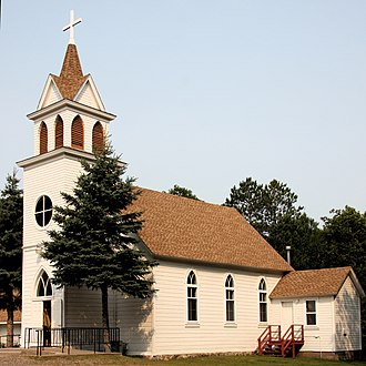 National Register of Historic Places listings in Aitkin County, Minnesota - Image: Beth Luth Aitkin MN