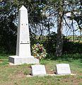 Bethphage (Axtell, Nebraska) Dahl monument.JPG