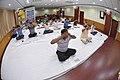 Bhramari Pranayama - International Day of Yoga Celebration - NCSM - Kolkata 2017-06-21 2439.JPG
