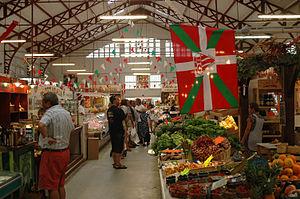 Biarritz - Biarritz market.