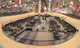 VELO Sports Center - Image: Bicycle track