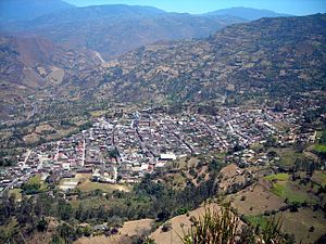 Cáqueza - View of Cáqueza