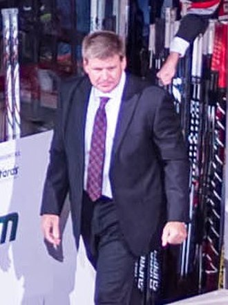 Bill Peters (ice hockey) - Image: Bill Peters Hurricanes