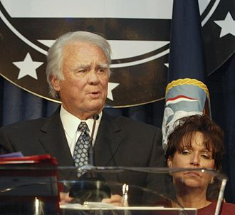 Armed Forces Foundation - Congressman C.W Bill Young of Florida with his wife Beverly speak at the 2008 Armed Forces Foundation's Congressional Gala.