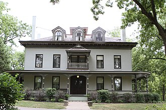 National Register of Historic Places listings in Jackson County, Missouri - Image: Bingham Waggoner House