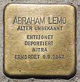 Binz Stolpersteine Strandpromenade 27 Abraham Lemo 01.jpg