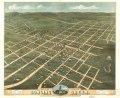Bird's eye view of the city of Bowling Green, Warren County, Kentucky 1871. LOC 73693412.tif