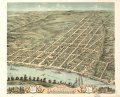 Bird's eye view of the city of Clarksville, Montgomery County, Tennessee 1870. LOC 73694527.tif