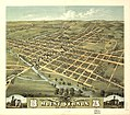 Bird's eye view of the city of Mount Vernon, Knox County, Ohio 1870. LOC 73694512.jpg
