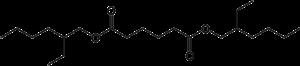 Bis(2-ethylhexyl) adipate - Image: Bis(2 ethylhexyl)adipate