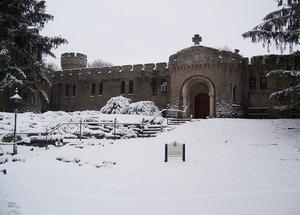 Bishop Simon Bruté College Seminary - Image: Bishop Simon Bruté College Seminary in the Snow