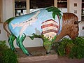 Bison statue on Santa Catalina Island.jpg