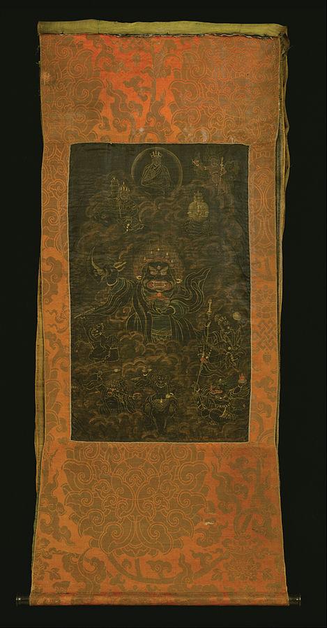 Black Cloak Mahakala or Bernag Chen