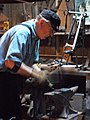 Blacksmithing Demonstration at Ferndale Museum.jpg