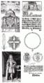 Bladzijden van de eerste gepubliceerde statuten van de Dannebrog-Orde 1693.png