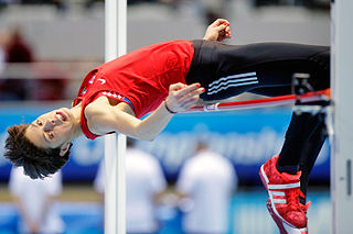 Croatian high jumper