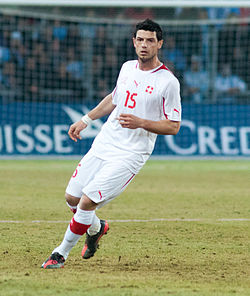 Blerim Dzemaili - Switzerland vs. Argentina, 29th February 2012 (cropped).jpg