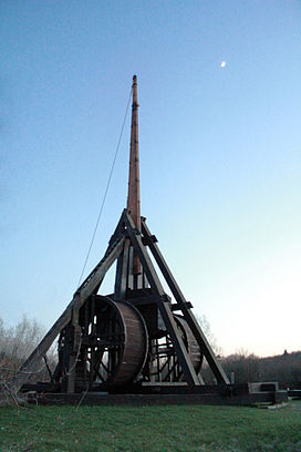 The trebuchet at the Middle Ages Center