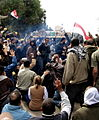 Blocking a tank in Tahrir.jpg