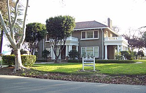 National Register of Historic Places listings in Merced County, California - Image: Bloss House Atwater CA Jan 08